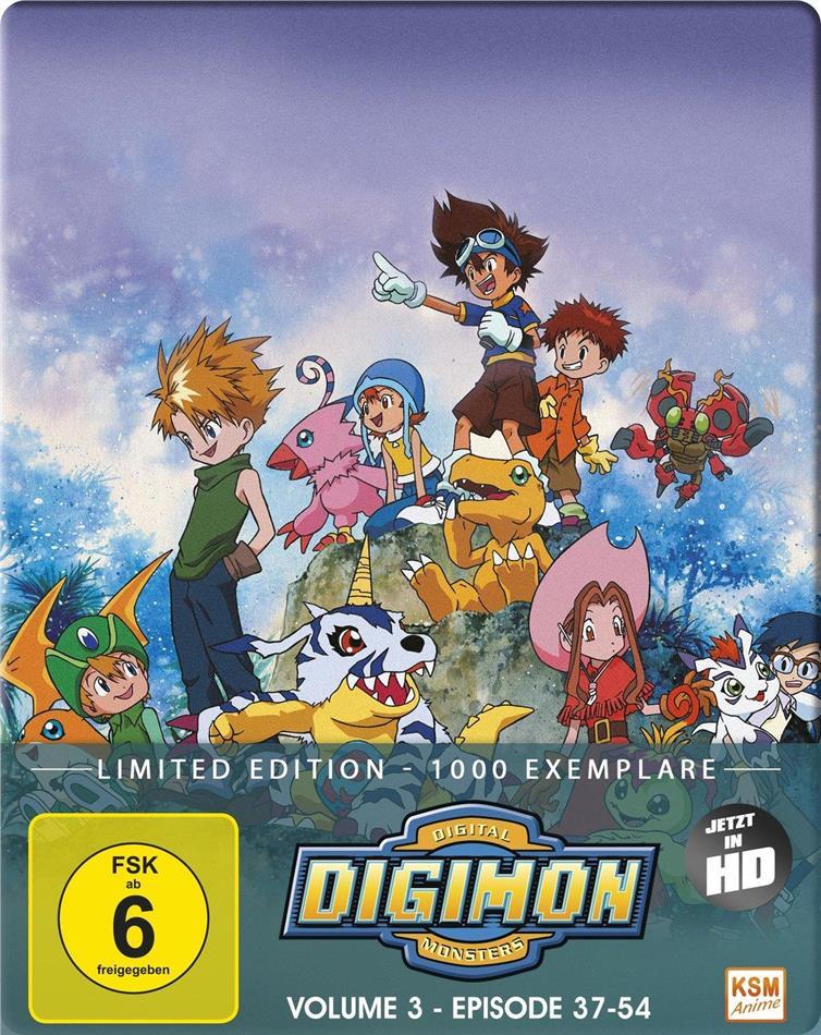Digimon: Digital Monsters - Adventure - Staffel 1 - Vol. 3 (Limited Edition, 2 Blu-rays)