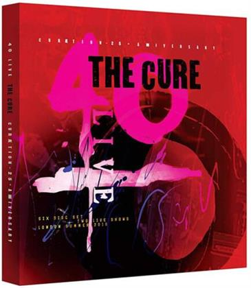 Cure - 40 Live Curaetion 25 + Anniversary (Deluxe Edition, Limited Edition)