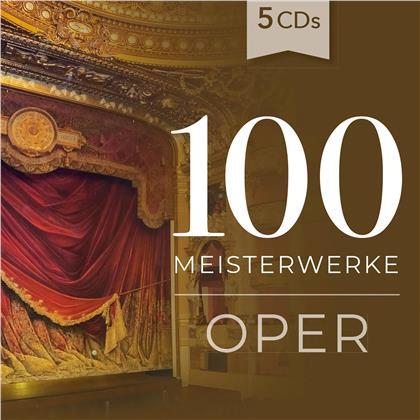 Various - 100 Meisterwerke Oper (5 CDs)