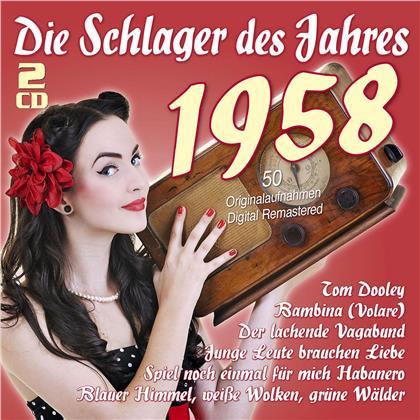 Die Schlager Des Jahres 1958 (2 CDs)