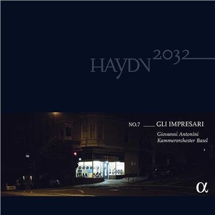 Kammerorchester Basel, Joseph Haydn (1732-1809), Wolfgang Amadeus Mozart (1756-1791) & Giovanni Antonini - Gli Impresari 7 - Haydn2032 (Bonus Vinyl, CD + LP)