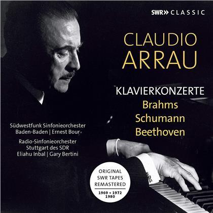 Ludwig van Beethoven (1770-1827), Eliahu Inbal, Ernst Bour, Gary Bertini & Claudio Arrau - Piano Concertos