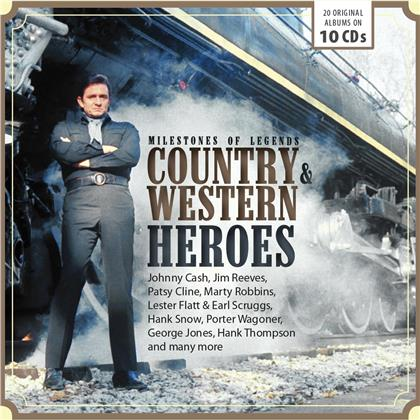 Country & Western Heroes (10 CDs)