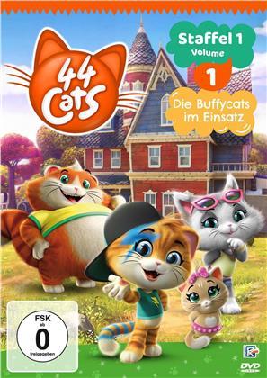 44 Cats - Staffel 1 - Vol. 1: Die Buffycats im Einsatz