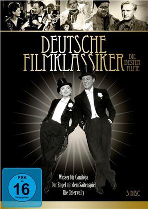 Deutsche Filmklassiker: Die besten Filme - Wasser für Canitoga / Der Engel mit dem Saitenspiel / Die Geierwally (s/w, 3 DVDs)