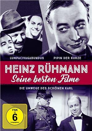 Heinz Rühmann: Seine besten Filme - Lumpacivagabundus / Pipin der Kurze / Die Umwege des schönen Karl (s/w, 3 DVDs)