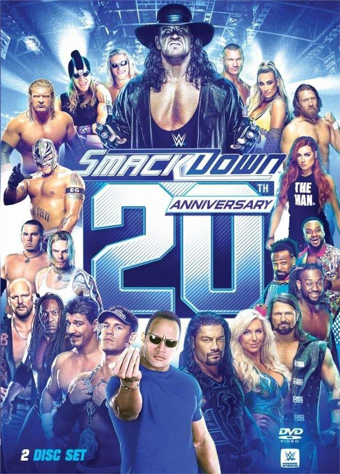 WWE - Smackdown 20th Anniversary (2 DVDs)
