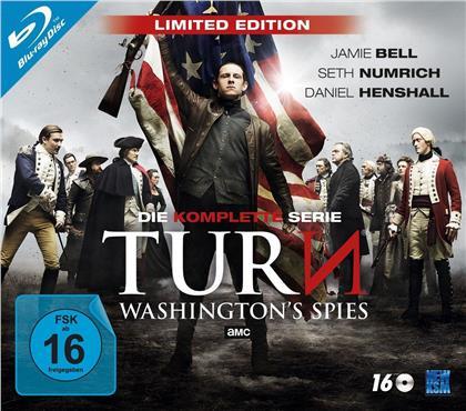 TURN - Washington's Spies - Die komplette Serie (Limited Edition, 16 Blu-rays)