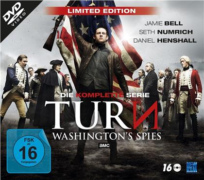 TURN - Washington's Spies - Die komplette Serie (Limited Edition, 16 DVDs)