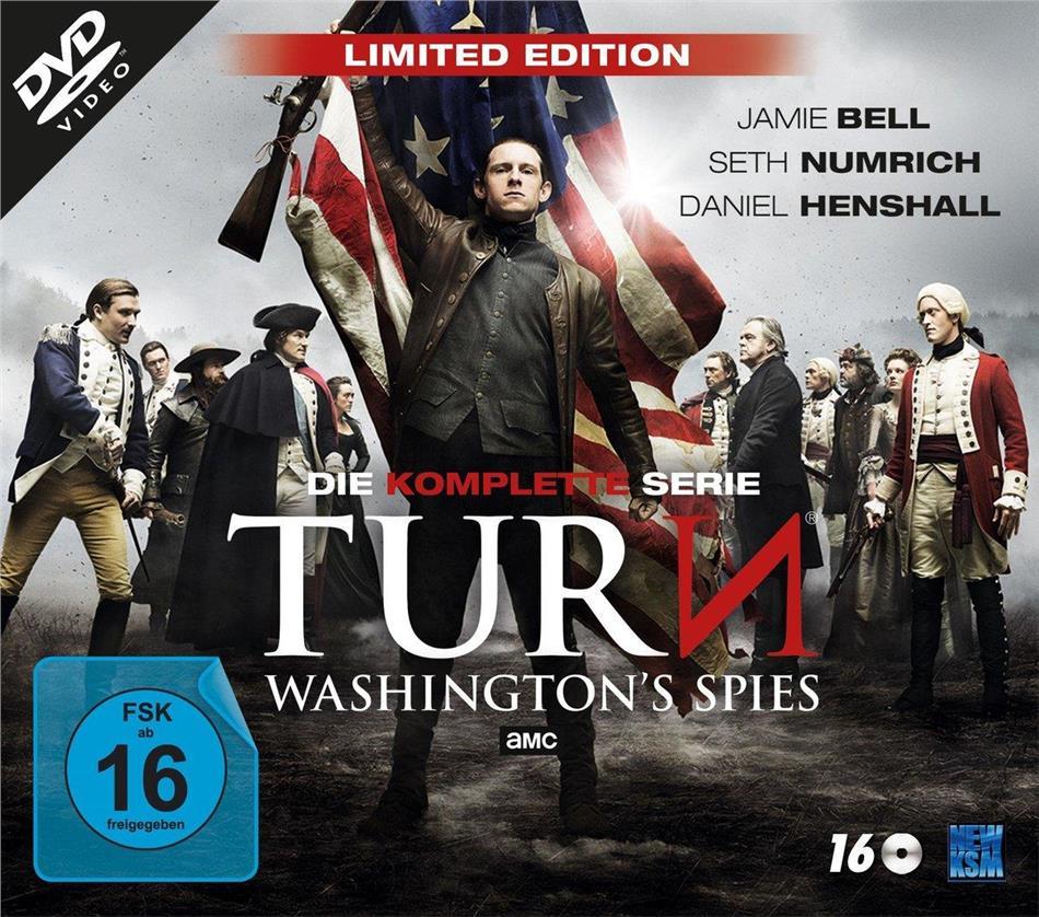TURN - Washington's Spies - Die komplette Serie (Limited Edition, 16 DVDs)