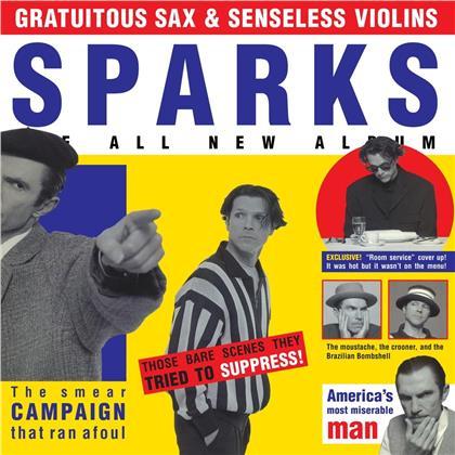 The Sparks - Gratuitous Sax & Senseless Violins (3 CDs)