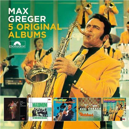 Max Greger - 5 Original Albums (5 CDs)