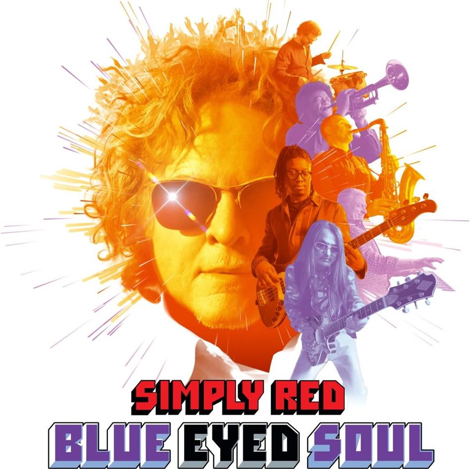 Simply Red - Blue Eyed Soul (Signed Exclusive Edition)