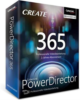 CyberLink PowerDirector 365 / 12 Monate