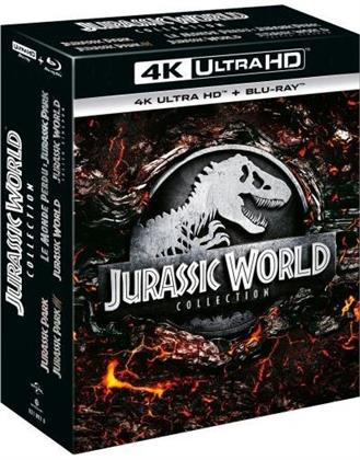 Jurassic World Collection - 5-Movie Collection (5 4K Ultra HDs + 5 Blu-ray)