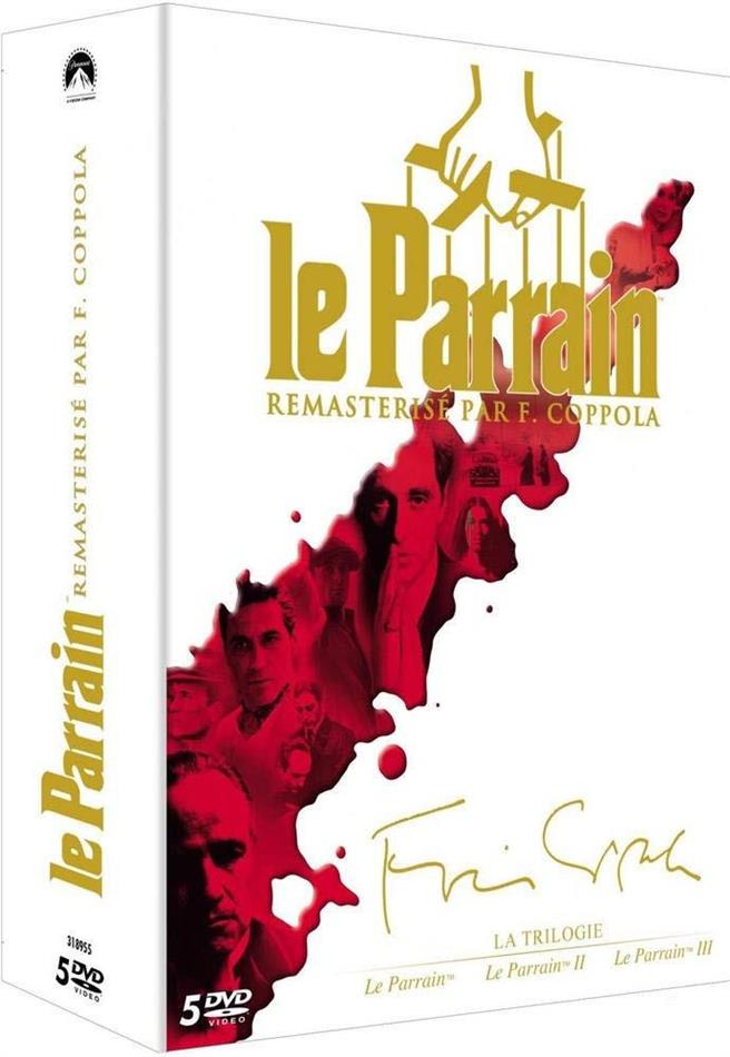 Le Parrain - La Trilogie (Remastered, 5 DVDs)