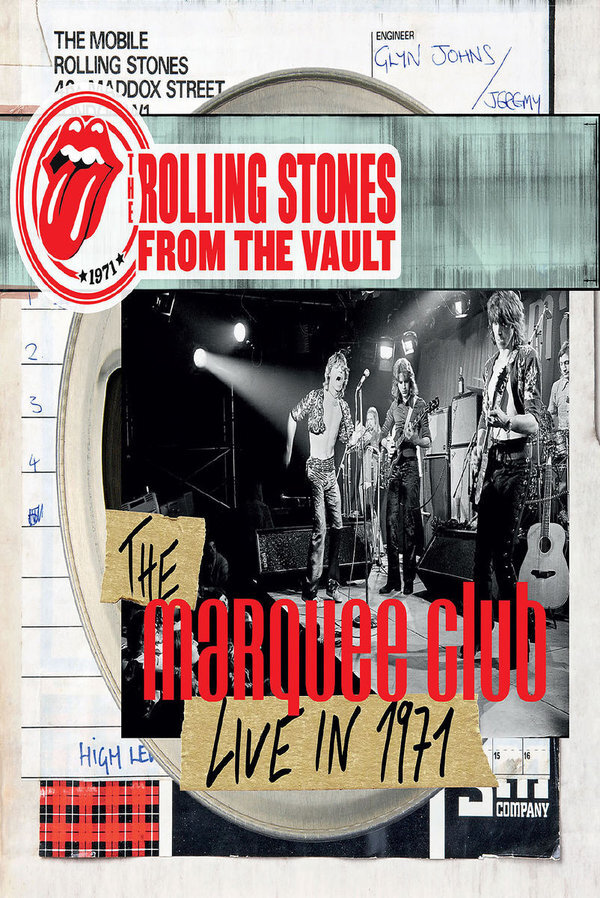 Rolling Stones - From the Vault - The Maquee Club - Live in 1971 (DVD + CD)