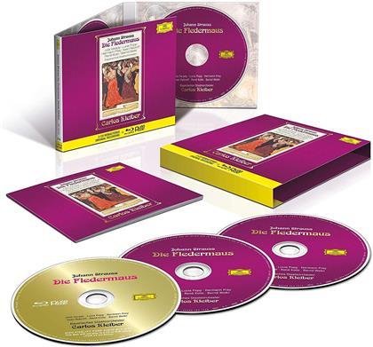 Johann Strauss I (1804-1849) & Carlos Kleiber - Die Fledermaus (2 CDs + Blu-ray)