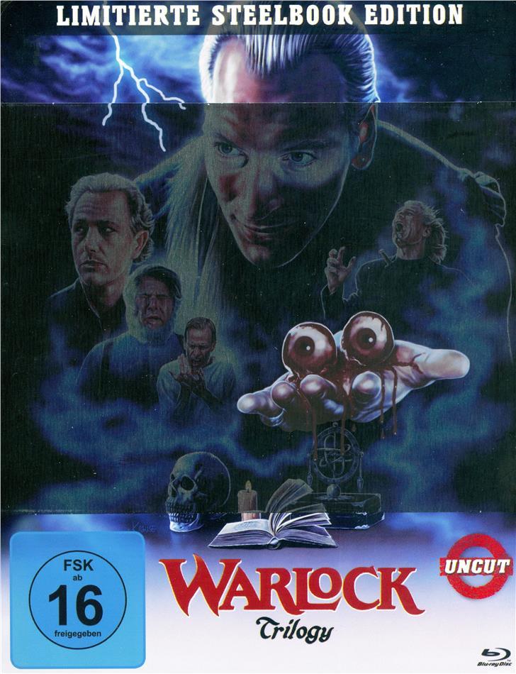 Warlock 1-3 (Limited Edition, Steelbook, Uncut, 3 Blu-rays)
