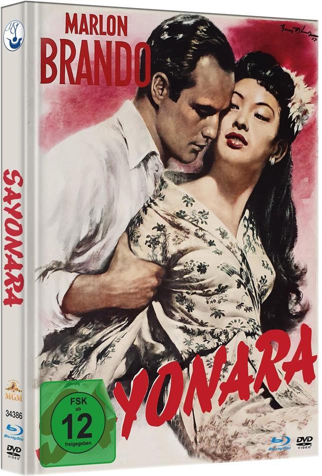 Sayonara (1957) (Limited Edition, Mediabook, Blu-ray + DVD)