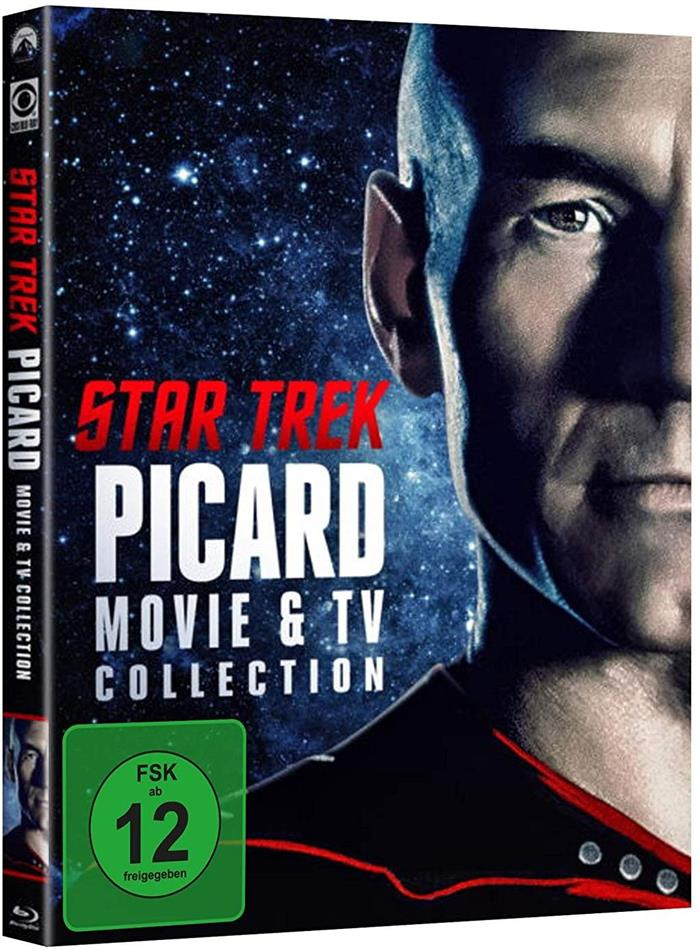 Star Trek: Picard - Movie & TV Collection (Limited Edition, Special Edition, 6 Blu-rays)