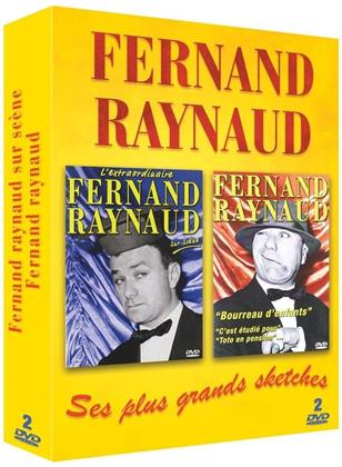 Fernand Raynaud sur scène / Fernand Raynaud : ses meilleurs sketches (2 DVDs)