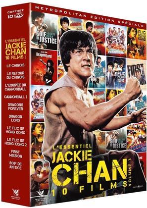 L'essentiel Jackie Chan 10 Films - Vol. 3 (10 DVDs)
