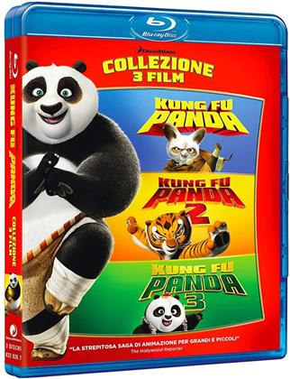 Kung Fu Panda 1-3 (3-Movie Collection, 3 Blu-rays)