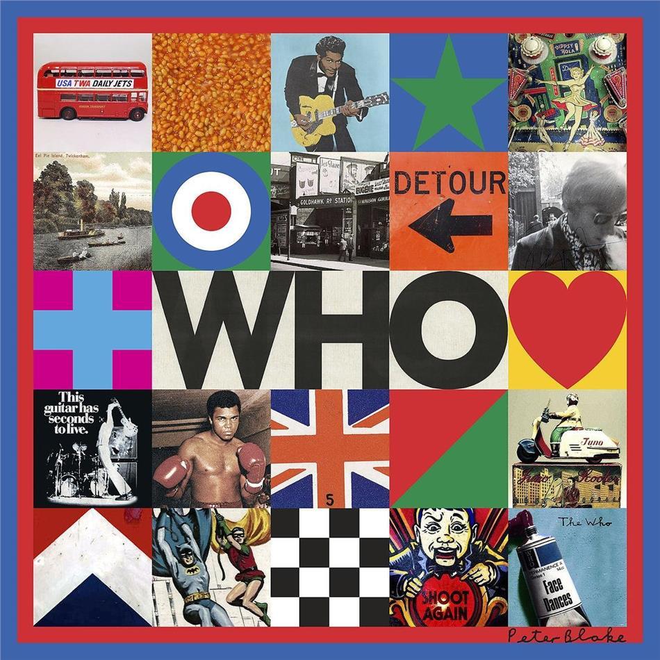 The Who - Who (Indies Only, Gatefold, Exclusive Edition, Edizione Limitata, Black & Cream Vinyl, 2 LP)