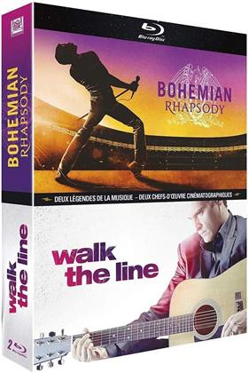 Bohemian Rhapsody / Walk the line (2 Blu-rays)