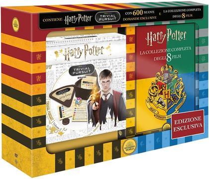 Harry Potter - La Collezione Completa - Trivial Pursuit Bitesize (Edizione Esclusiva, 8 DVDs)