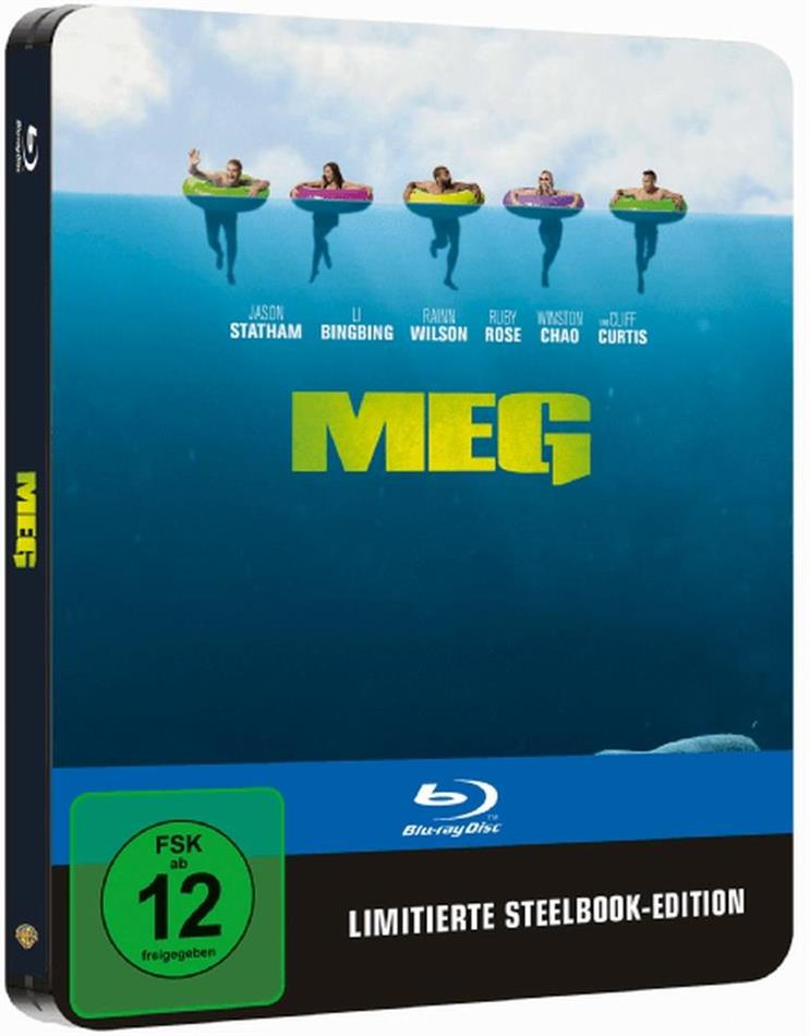 MEG (2018) (Limited Edition, Steelbook)