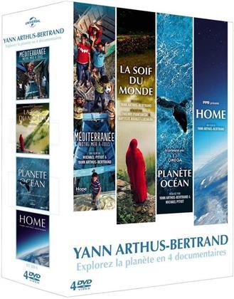 Yann Arthus-Bertrand - Explorez la planète en 4 documentaires (4 DVDs)