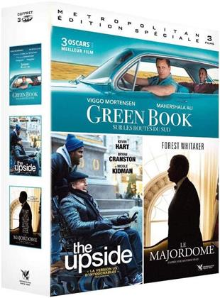Green Book / The Upside / Le Majordome (3 DVDs)