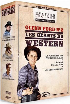 Glenn Ford N°2 - Les géants du Western - La poursuite des Tuniques Bleues / L'énigme du Lac Noir / Les Desperados (3 DVDs)