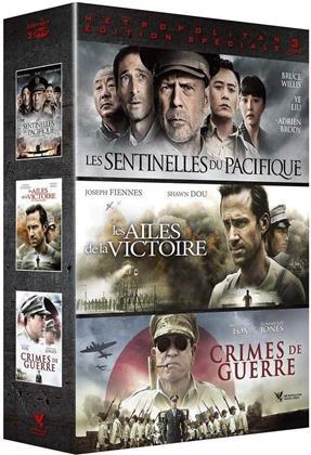 Les Sentinelles du Pacifique / Les ailes de la victoire / Crimes de guerre (3 DVDs)