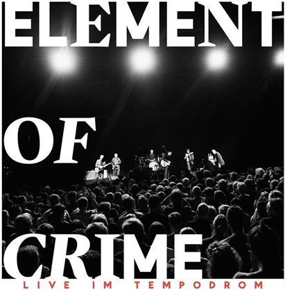 Element Of Crime - Live Im Tempodrom (Digipack, Limited Edition, 2 CDs)