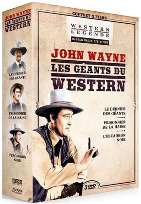 John Wayne - Les géants du Western - Le dernier des géants / Prisonnier de la haine / L'escadron noir (3 DVDs)