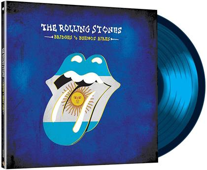 The Rolling Stones - Bridges To Buenos Aires (Limited Edition, Translucent Blue Vinyl, 3 LPs)