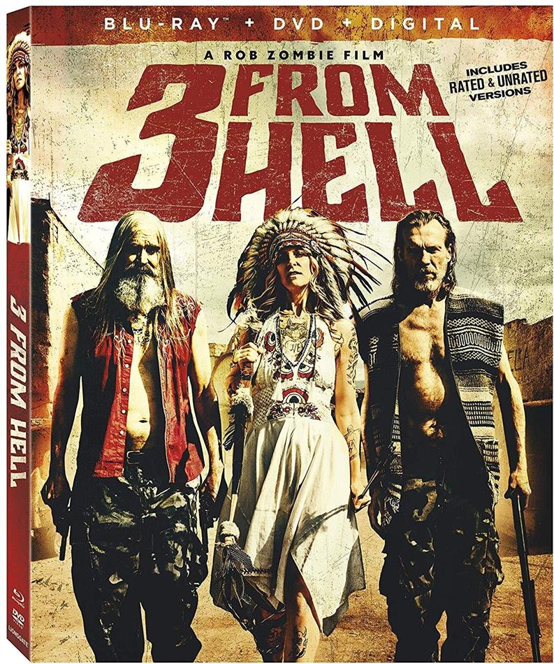 3 From Hell (2019) (Blu-ray + DVD)