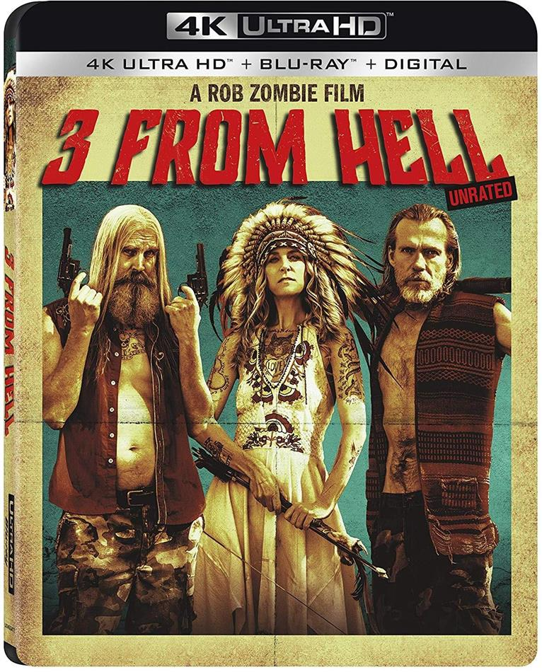 3 From Hell (2019) (4K Ultra HD + Blu-ray)