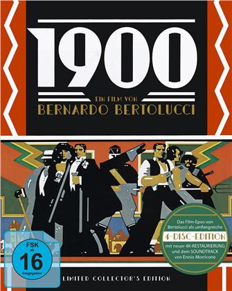 1900 (1976) (Limited Collector's Edition, 3 Blu-rays + CD)