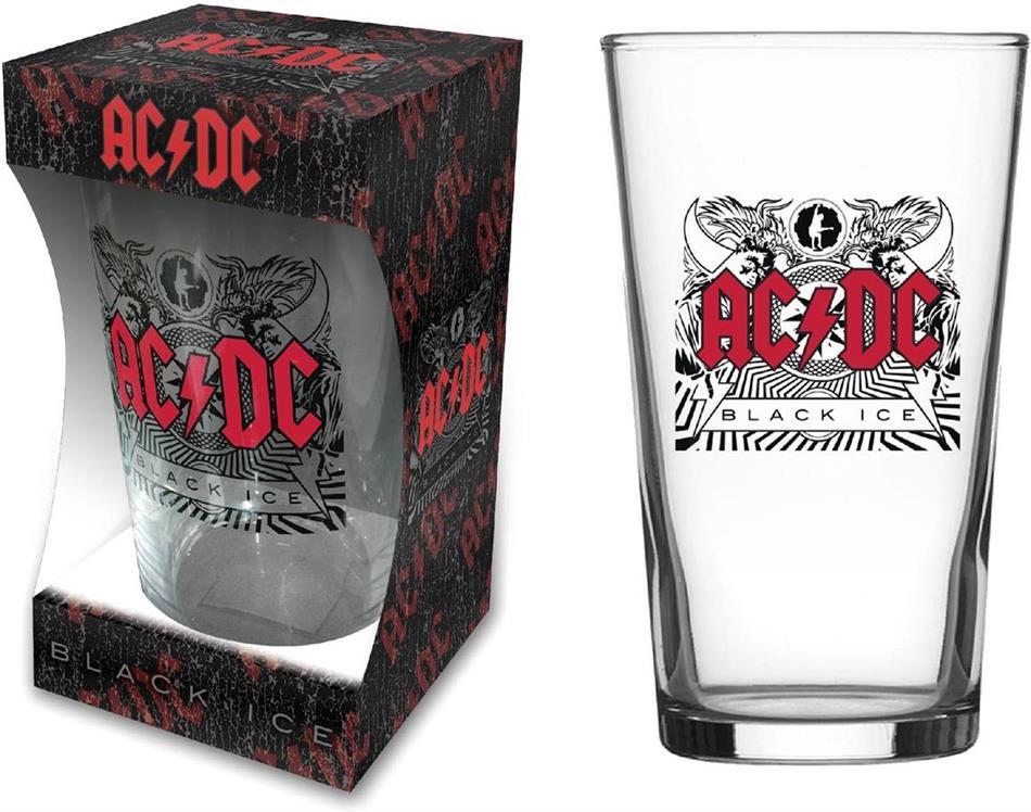 AC/DC - Black Ice (Beer Glass)