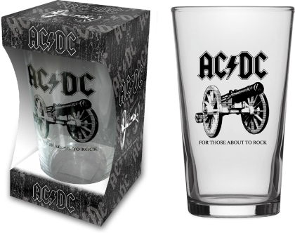AC/DC - For Those About To Rock (Beer Glass)