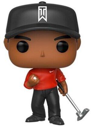 Funko Pop! Golf: - Tiger Woods (Red Shirt)