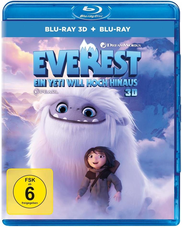 Everest - Ein Yeti will hoch hinaus (2019) (Blu-ray 3D + Blu-ray)