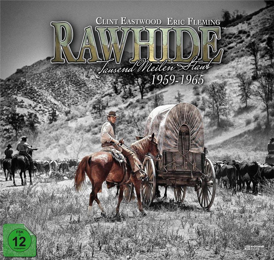Rawhide - Tausend Meilen Staub - Die komplette Serie (Collector's Edition, Limited Edition, Blu-ray + 59 DVDs)