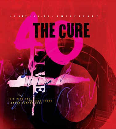 The Cure - Curaetion - Anniversary (25th Anniversary Edition, 2 Blu-rays)