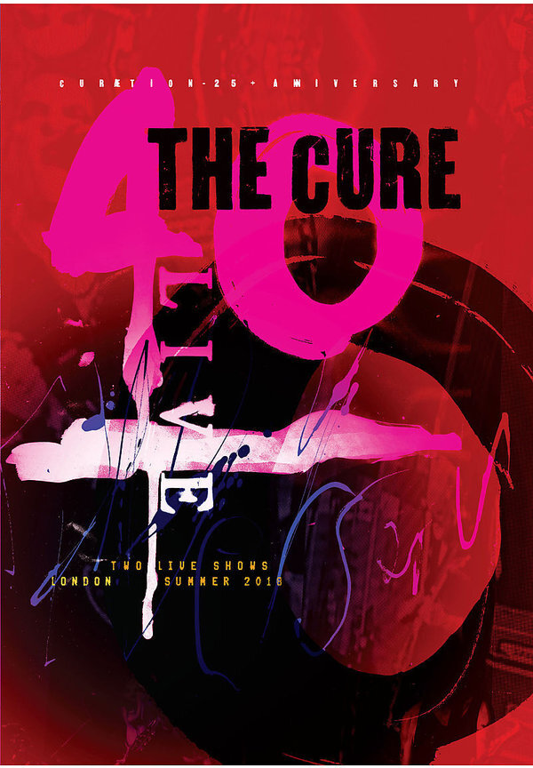 The Cure - Curaetion (25th Anniversary Edition, 2 DVDs)