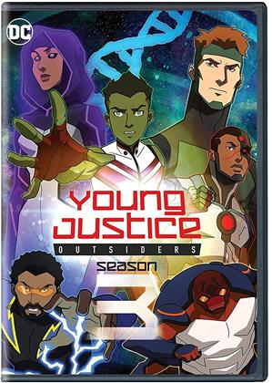 Young Justice - Season 3 - Outsiders (4 DVDs)